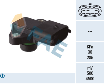 Capteur, pression du tuyau d'admission FAE 15147 (X1)