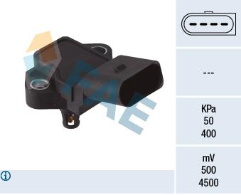 Capteur, pression du tuyau d'admission FAE 15150 (X1)