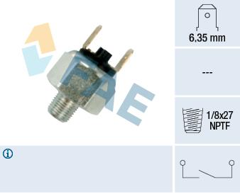 Contacteur de feu stop FAE 21010 (X1)