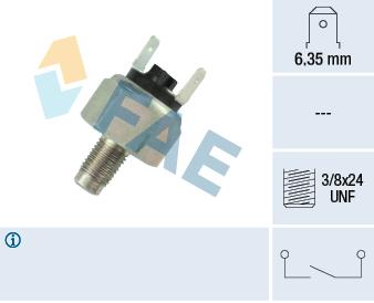Contacteur de feu stop FAE 21030 (X1)