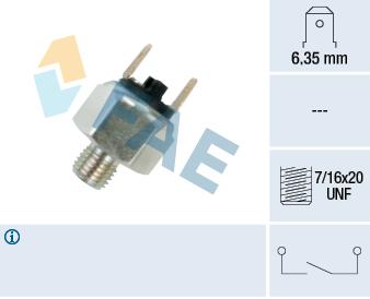 Contacteur de feu stop FAE 21040 (X1)