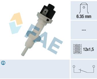 Contacteur de feu stop FAE 24010 (X1)