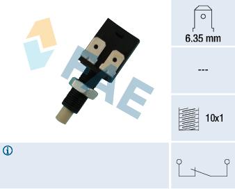 Contacteur de feu stop FAE 24080 (X1)