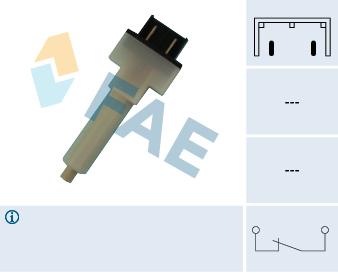 Contacteur de feu stop FAE 24280 (X1)