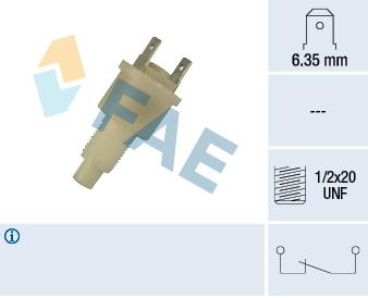 Contacteur de feu stop FAE 24300 (X1)