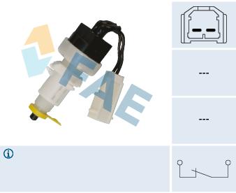 Contacteur de feu stop FAE 24365 (X1)