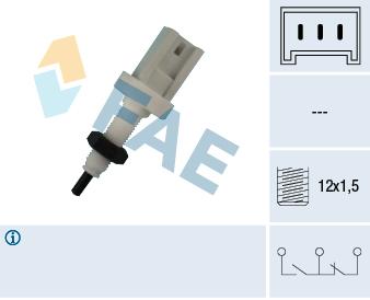 Contacteur de feu stop FAE 24380 (X1)