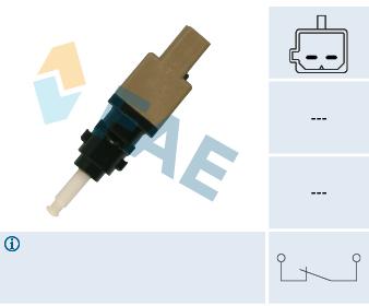 Contacteur de feu stop FAE 24412 (X1)