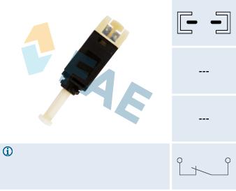 Contacteur de feu stop FAE 24430 (X1)