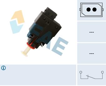 Contacteur de feu stop FAE 24460 (X1)