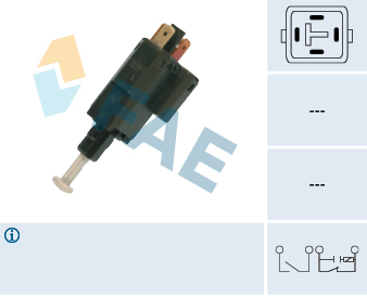 Contacteur de feu stop FAE 24516 (X1)