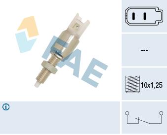 Contacteur de feu stop FAE 24550 (X1)