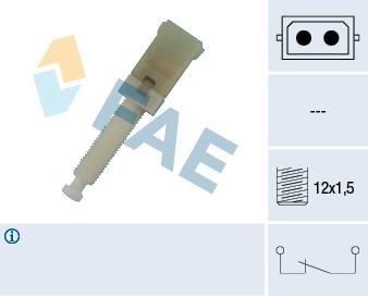 Contacteur de feu stop FAE 24560 (X1)