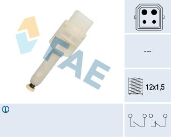 Contacteur de feu stop FAE 24565 (X1)