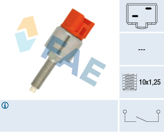 Contacteur de feu stop FAE 24630 (X1)