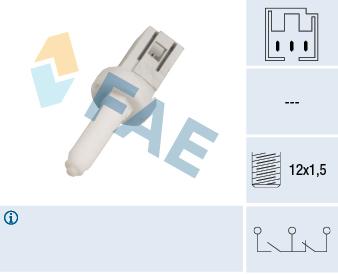 Contacteur de feu stop FAE 24650 (X1)