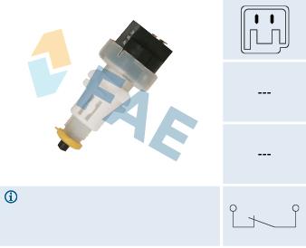 Contacteur de feu stop FAE 24675 (X1)