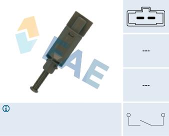 Commande, embrayage (régulateur de vitesse) FAE 24772 (X1)