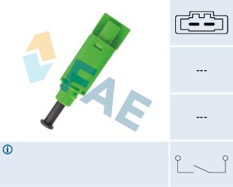 Commande, embrayage (régulateur de vitesse) FAE 24774 (X1)