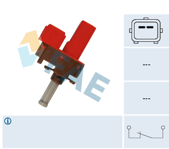 Commande, embrayage (régulateur de vitesse) FAE 24845 (X1)