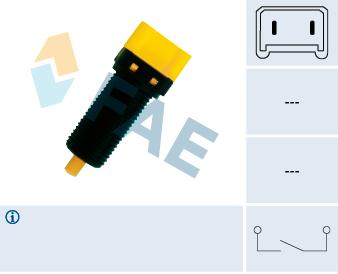 Commande, embrayage (régulateur de vitesse) FAE 24860 (X1)