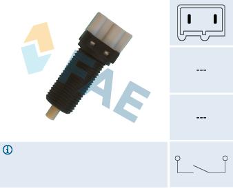 Commande, embrayage (régulateur de vitesse) FAE 24870 (X1)
