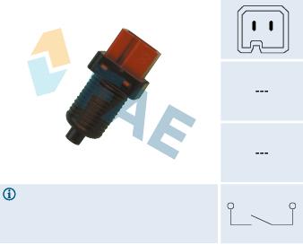 Contacteur de feu stop FAE 24880 (X1)