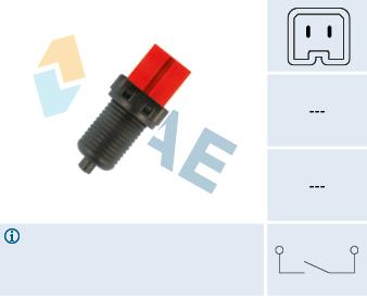 Contacteur de feu stop FAE 24885 (X1)