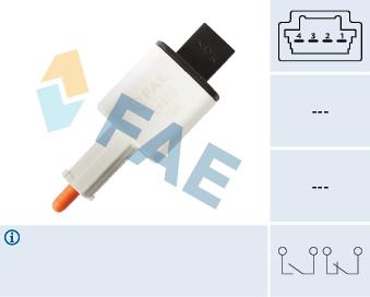 Contacteur de feu stop FAE 24888 (X1)