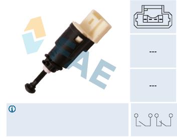 Contacteur de feu stop FAE 24903 (X1)