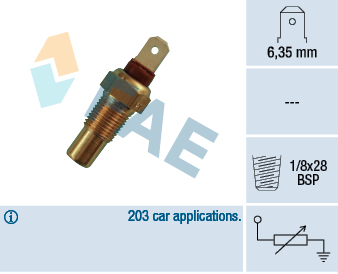 Refroidissement FAE 31570 (X1)