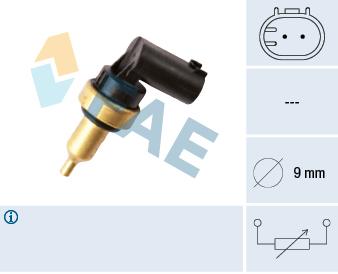 Capteur, température de la culasse FAE 32706 (X1)