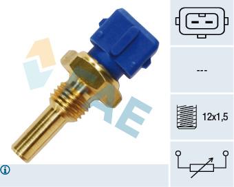 Capteur, temperature du liquide de refroidissement FAE 33010 (X1)