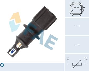 Capteur, température de l'air d'admission FAE 33179 (X1)