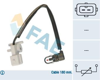 Capteur de temperature FAE 33185 (X1)