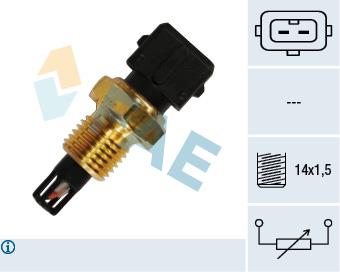 Capteur, température de l'air d'admission FAE 33220 (X1)