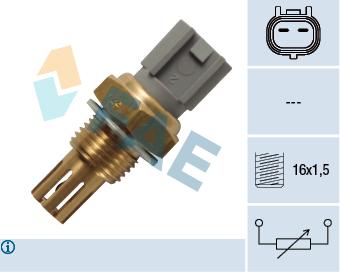 Capteur, température de l'air d'admission FAE 33236 (X1)