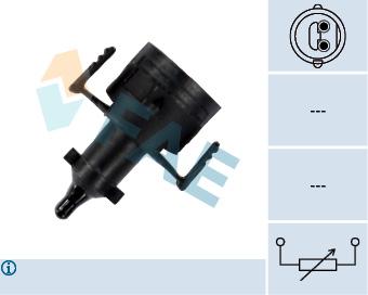 Capteur, température de l'air d'admission FAE 33503 (X1)