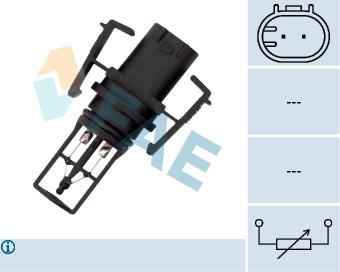 Capteur, température de l'air d'admission FAE 33504 (X1)