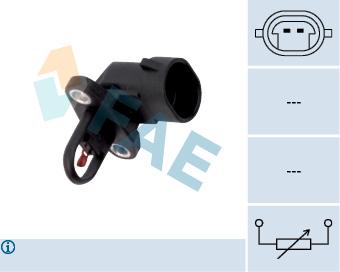 Capteur, température extérieure FAE 33506 (X1)