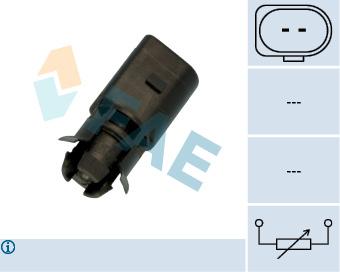 Capteur de temperature FAE 33515 (X1)