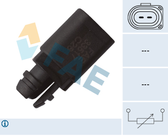 Capteur, température extérieure FAE 33517 (X1)
