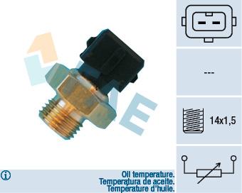 Capteur de temperature FAE 33560 (X1)