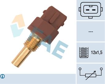Capteur de temperature FAE 33595 (X1)