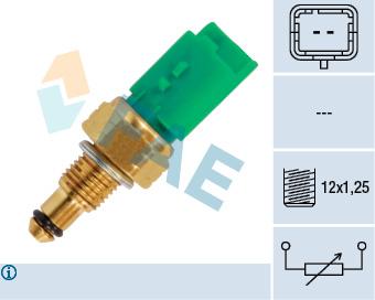 Capteur, temperature du liquide de refroidissement FAE 33695 (X1)