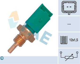 Capteur de temperature FAE 33705 (X1)