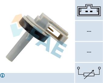 Capteur, température intérieur FAE 33870 (X1)