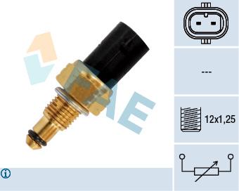 Capteur, température de carburant FAE 33880 (X1)