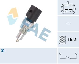 Contacteur de feu de recul FAE 40480 (X1)