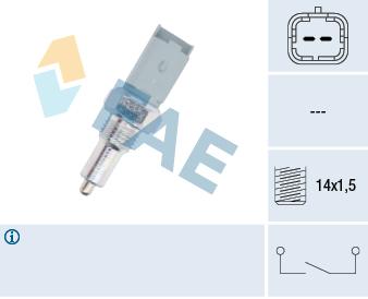 Contacteur de feu de recul FAE 40492 (X1)